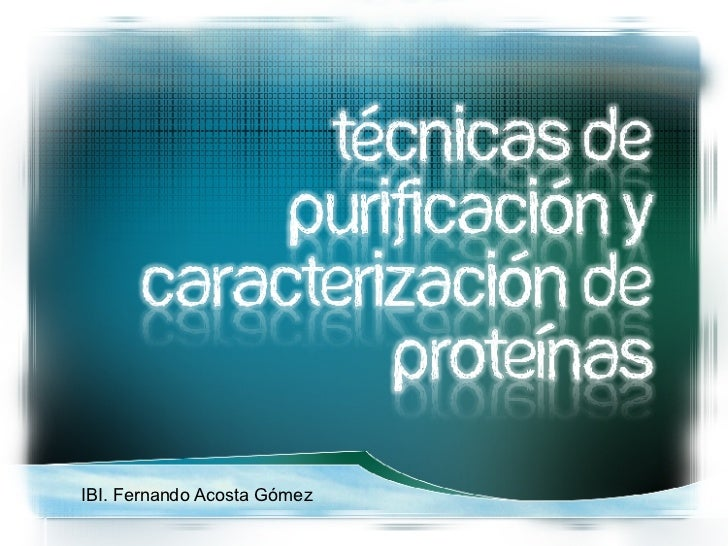 IBI. Fernando Acosta Gómez