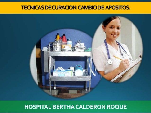 TECNICASDECURACION CAMBIODEAPOSITOS.