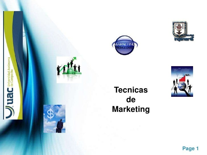 Tecnicas<br />de<br />Marketing<br />