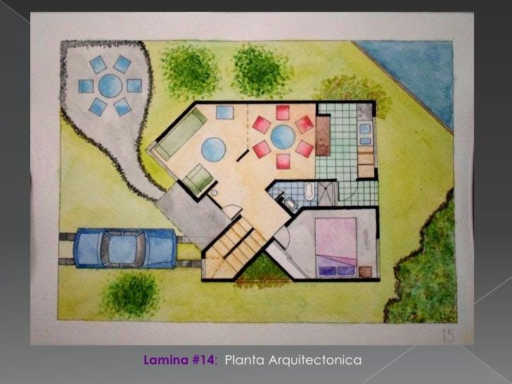 Tecnicas de representacion for Representacion arquitectonica en planos