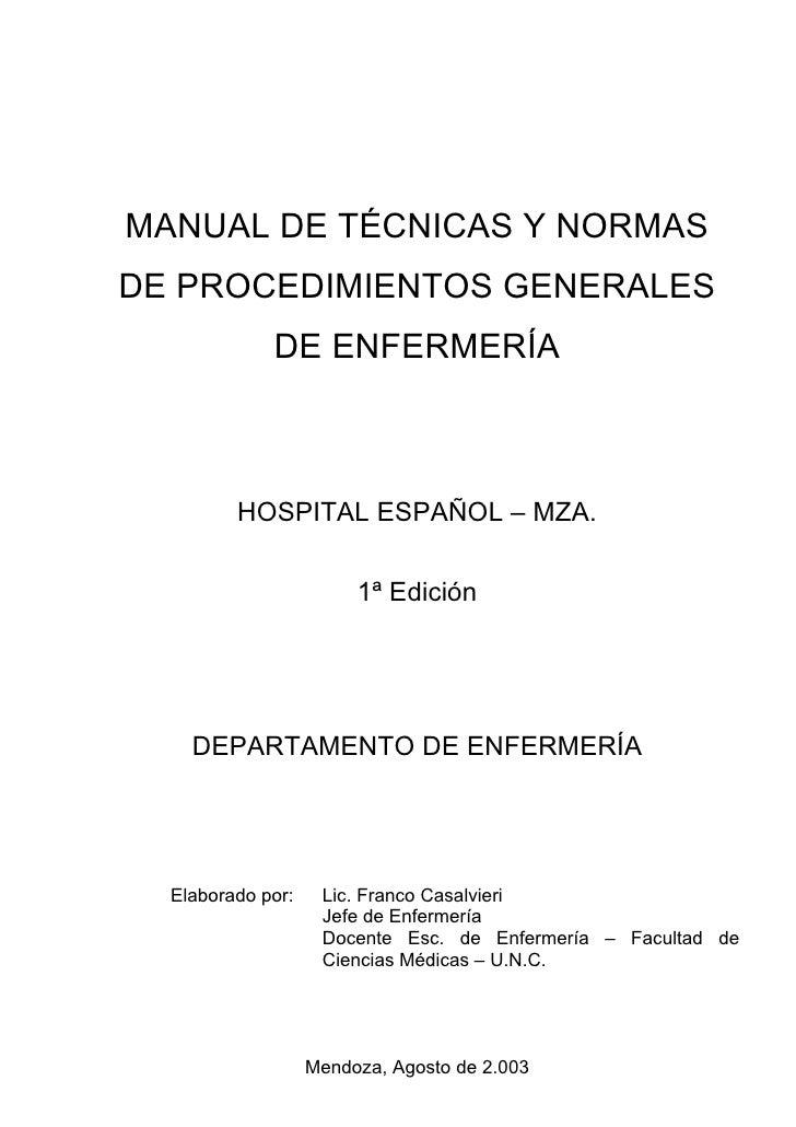 Tecnicasyprocedimientos