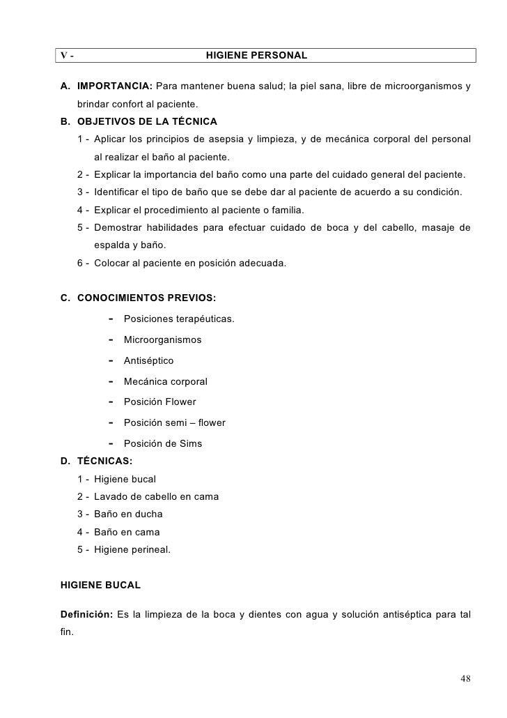 Baño General Del Paciente:Tecnicasyprocedimientos
