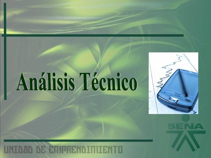 Plan de Negocios Aspecto Técnico SENA CGA