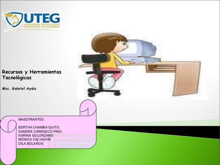 Tecnología aplicadas en las instituciones educativas en los