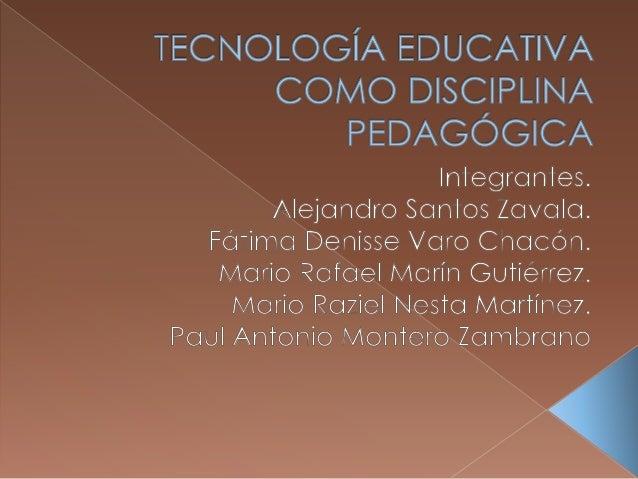 EVOLUCION DE LA TE COMO DISCIPLINA 40's formación militar 50's y 60's fascinación por los audiovisuales 70's enfoque técni...