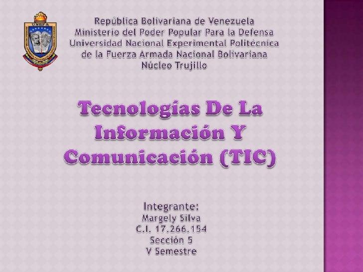 La Tecnologías de la Información y Comunicación han permitidollevar la globalidad al mundo de la comunicación, facilitando...