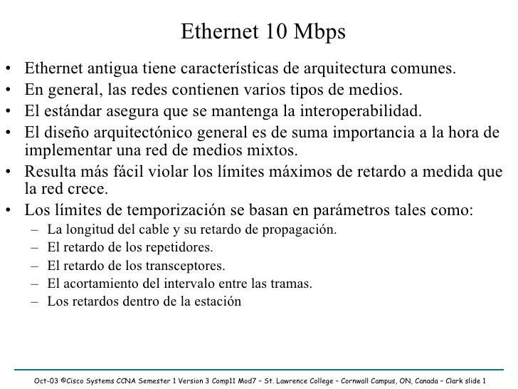 Tecnologías ethernet reducido