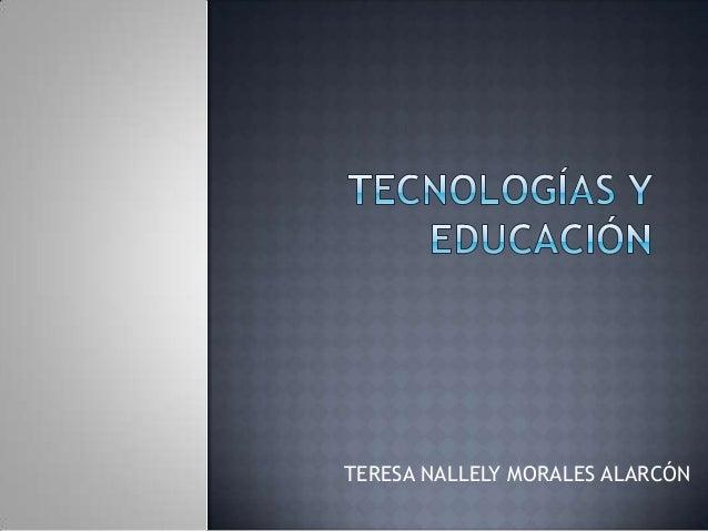 TERESA NALLELY MORALES ALARCÓN