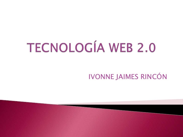 IVONNE JAIMES RINCÓN