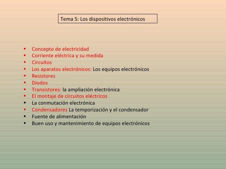 <ul><li>Concepto de electricidad </li></ul><ul><li>Corriente eléctrica y su medida </li></ul><ul><li>Circuitos </li></ul><...