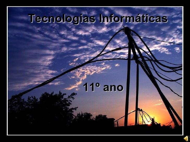 Tecnologia InformáTicas
