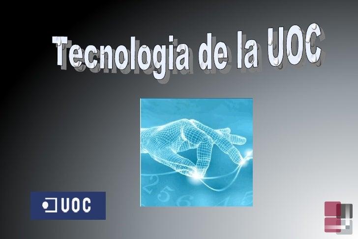 Tecnologia de la UOC