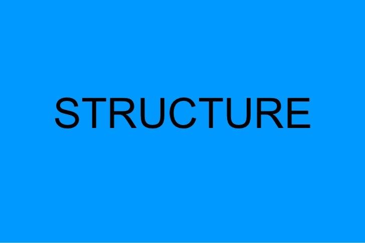 Tecnologia estructuras