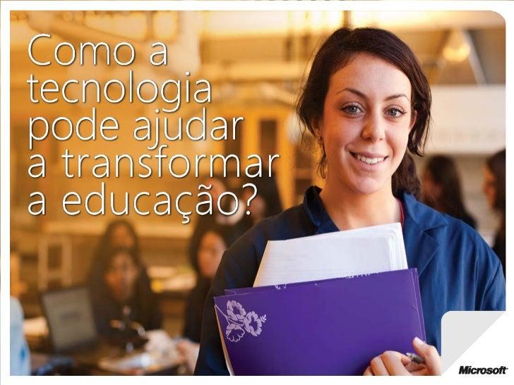 Tecnologia na educação   vitória