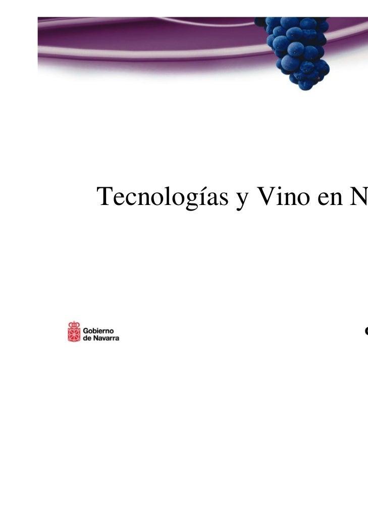 Tecnologías y Vino en Navarra