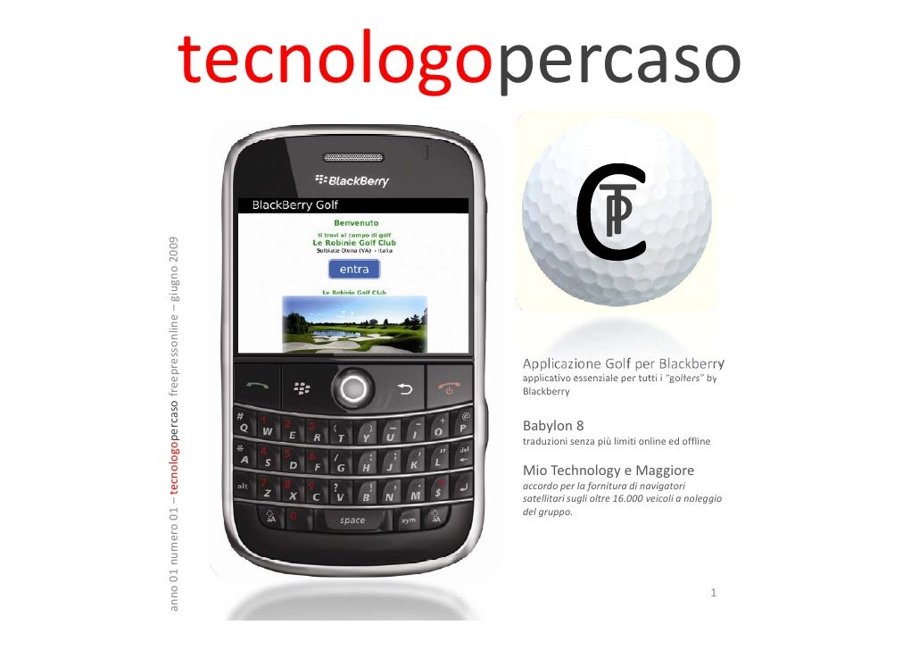 Tecnologopercaso giugno 2009