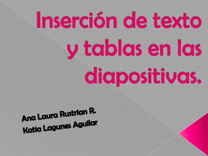 Nos permite la inclusión de un espaciodonde podamos insertar un texto en la   diapositiva. Podremos aumentar o reducir el ...