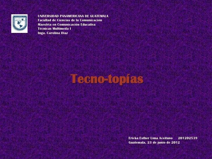 UNIVERSIDAD PANAMERICANA DE GUATEMALAFacultad de Ciencias de la ComunicaciónMaestría en Comunicación EducativaTécnicas Mul...