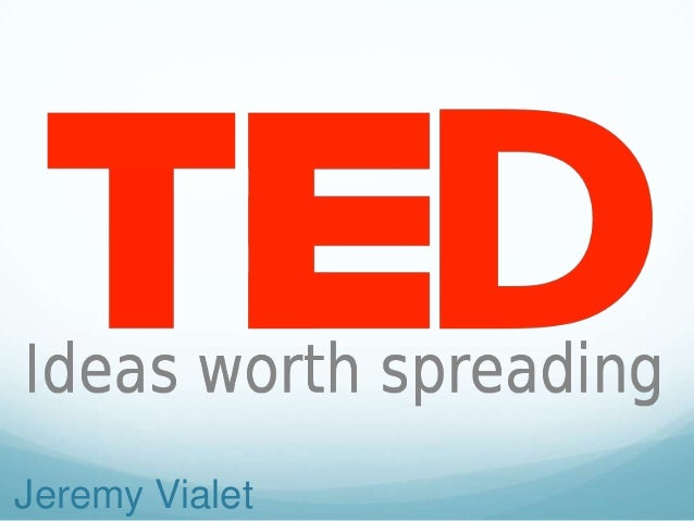 Ted evaluation