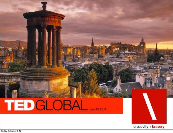 Ted Global 2011
