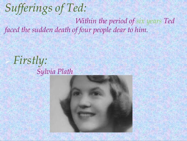 an analysis of sylvia plaths confessional poem daddy Sylvia plath's confessional poetry sylvia plath poem analysis.