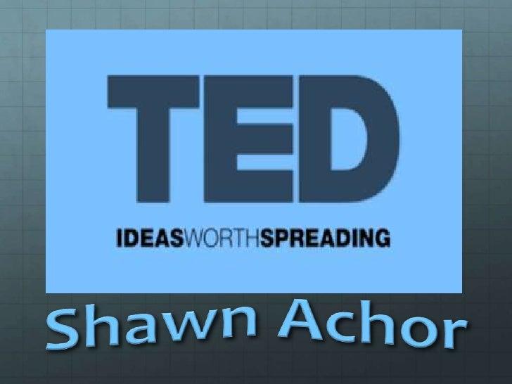 Ted presentation