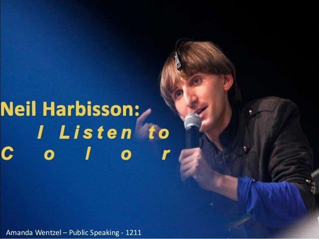 Neil Harbisson TED Evaluation