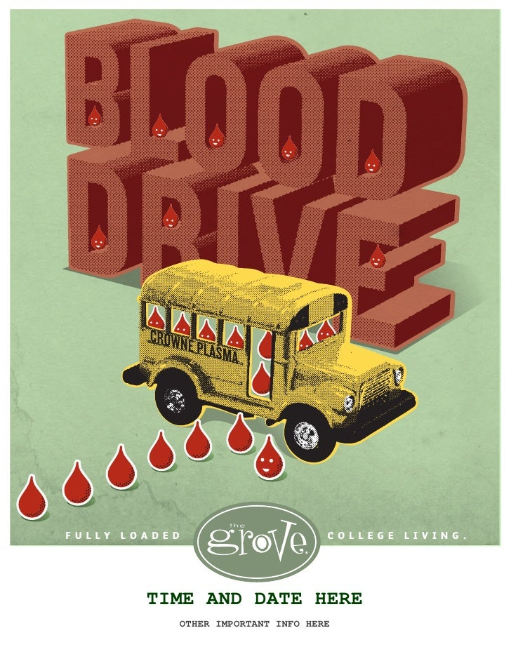The Grove Blood Drive with Ted Rollins