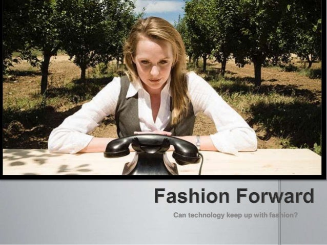 Ted Talk: iPhone Fashion Apps