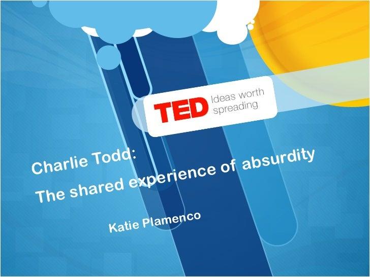 Ted talkspresentation