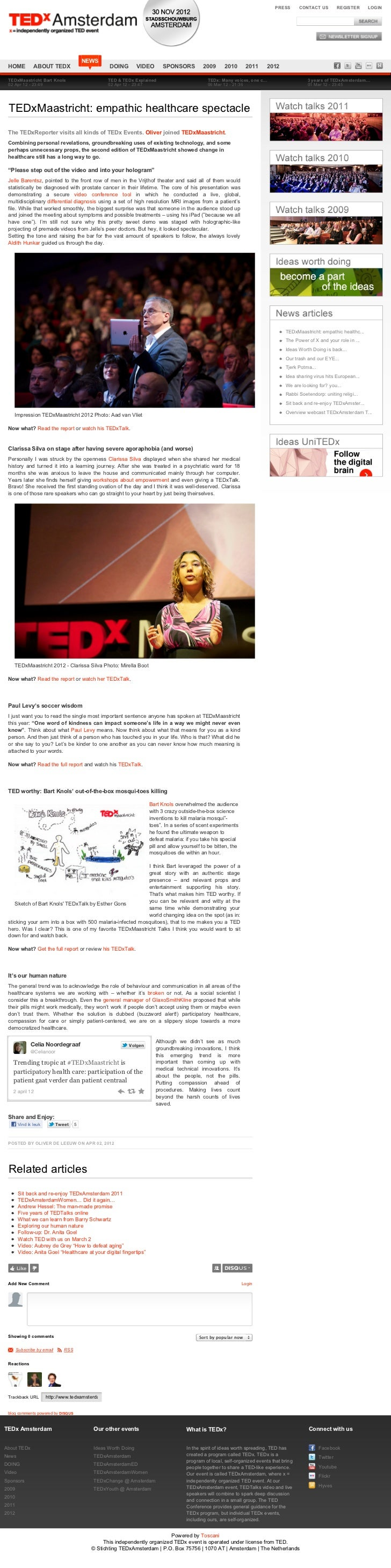 PRESS       CONTACT US          REGISTER   LOGIN                                        NEWS HOME           ABOUT TEDX    ...