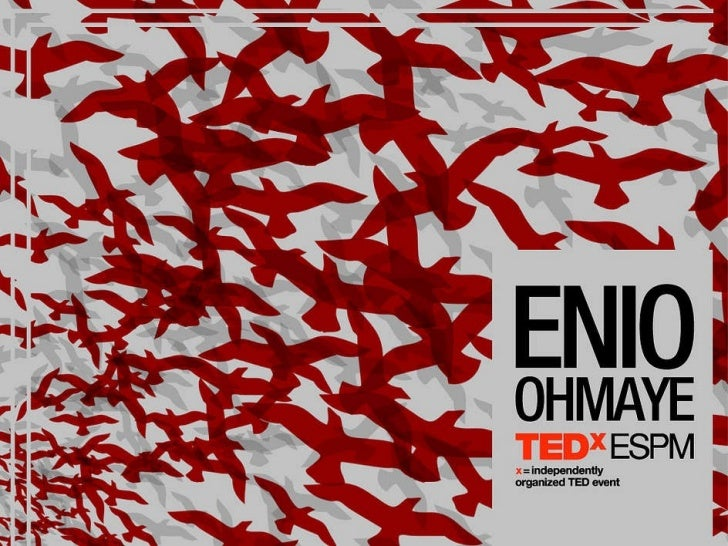 Enio Ohmaye TEDxESPM