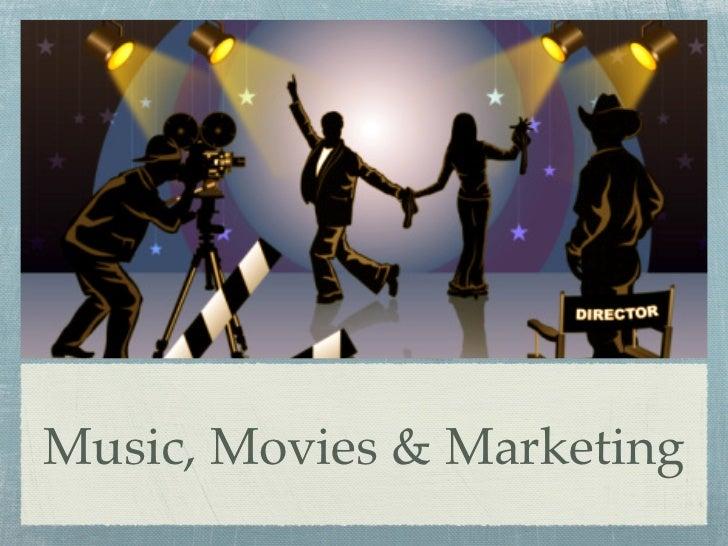 TEDxHRC - Music, Movies & Marketing