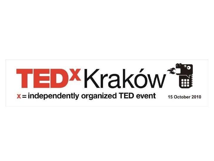 TEDxKraków Sponsor Presentation