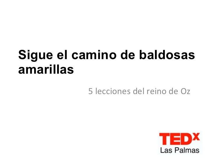 María Infante en TEDxLasPalmas