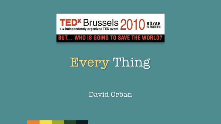 Every Thing  David Orban