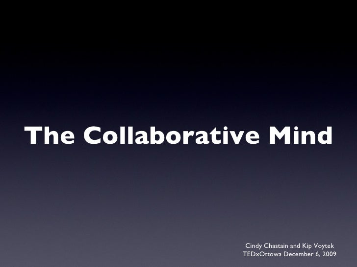 The Collaborative Mind