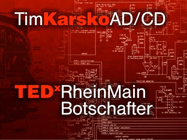 TimKarskoAD/CD TEDx RheinMain Botschafter