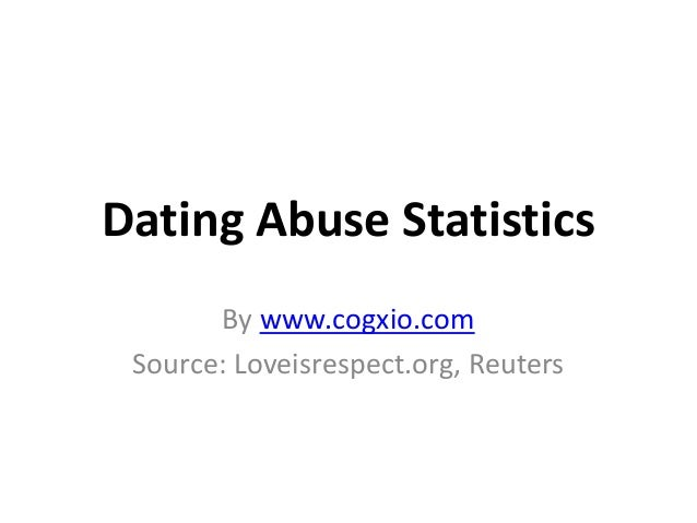 Statistics on dating abuse