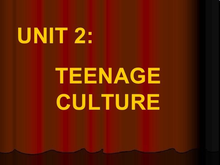 Teenageculture