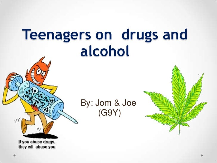 Drug abuse in teenagers