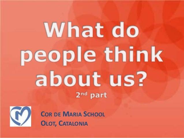 COR DE MARIA SCHOOLOLOT, CATALONIA