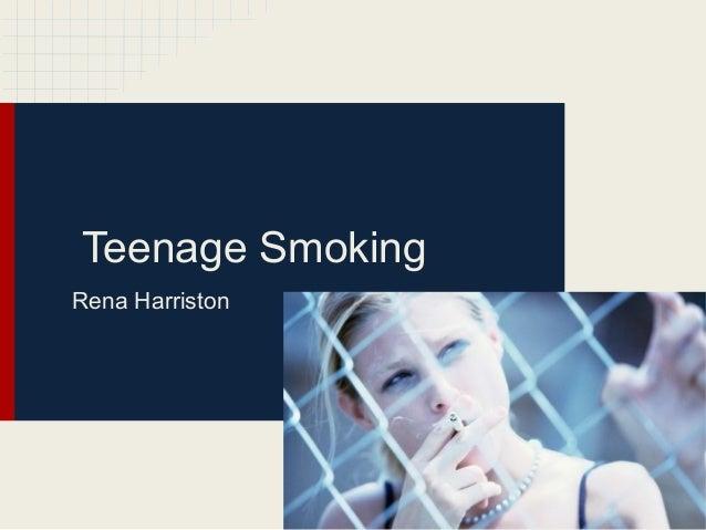 Teenage Smoking Essay
