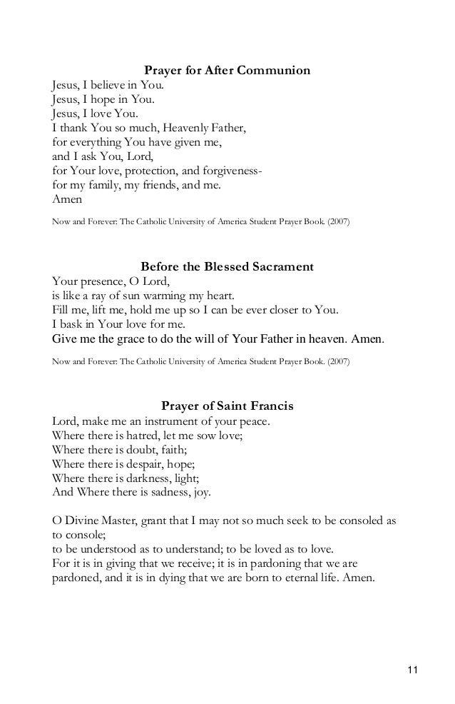 Catholic Teen Prayer 102