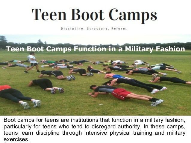 teen boot camps in virginia