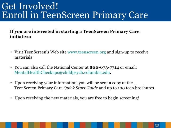 Movie screening for teens