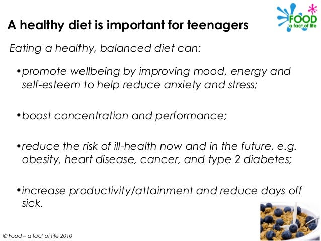 Food and Mood: Teen Nutrition and Mental Health