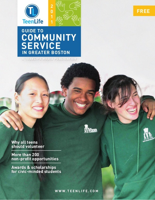 TeenLife 2011 Guide to Community Service