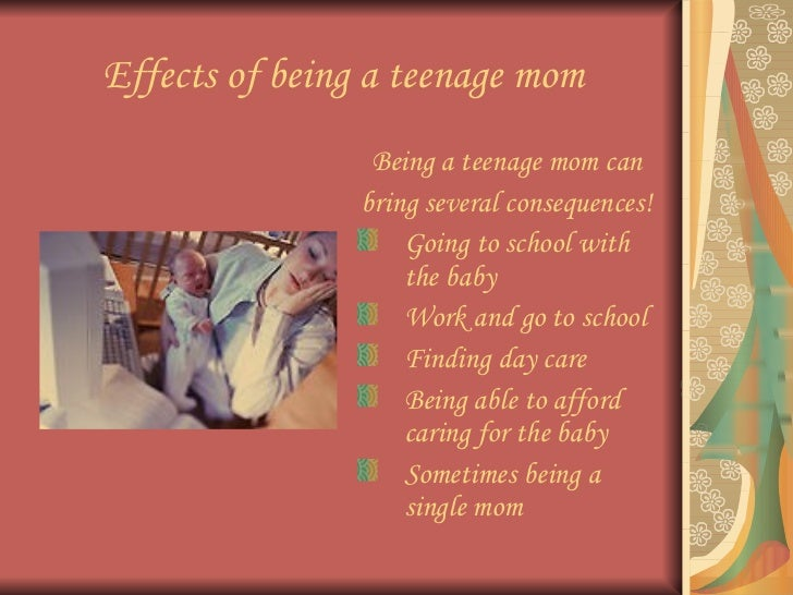 Effects on teen pregnancy with