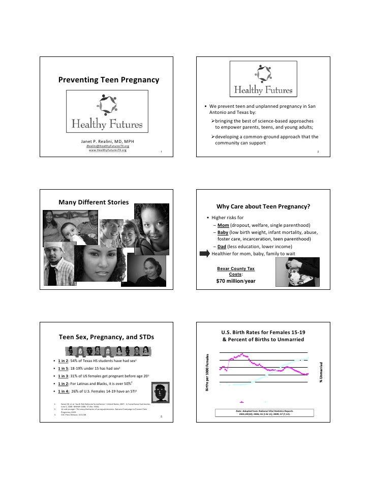 Teen Pregnancy Preparation